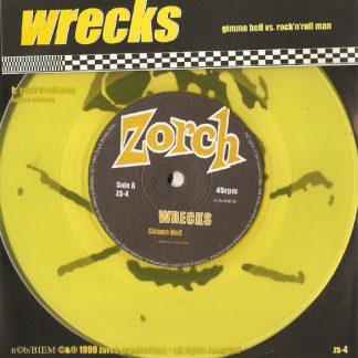WRECKS - Gimme Hell vs Rock'n'Roll Man 7""