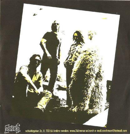 "WRECKS - Gimme Hell vs Rock'n'Roll Man 7"" back"