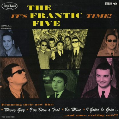 """THE FRANTIC FIVE - It's Frantic Time 10"""""""