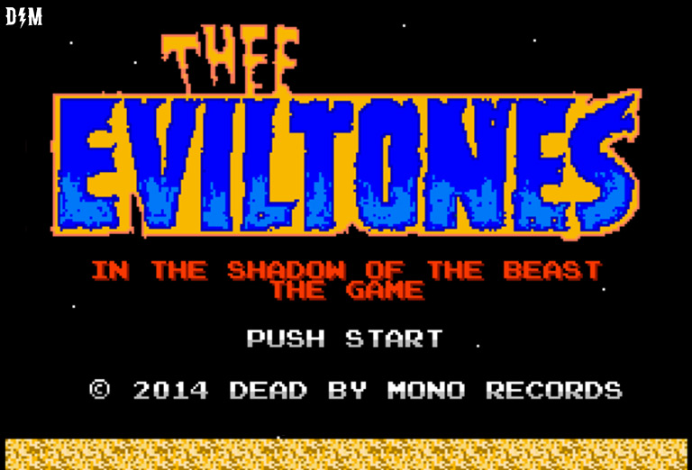 Push Start with Thee Eviltones in 8 Bit