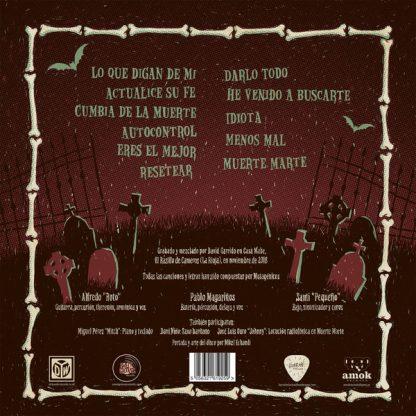 MUTAGÉNICOS - 3 LP back cover