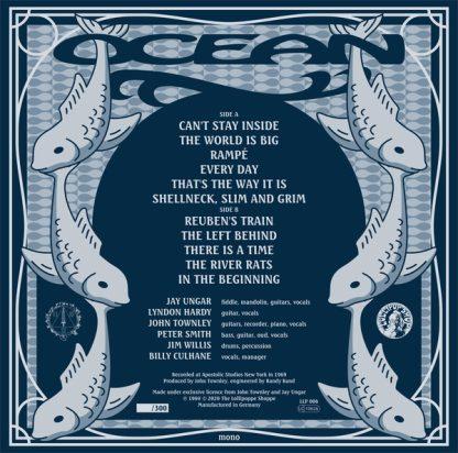 OCEAN - Ocean LP back cover