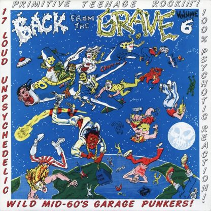 VA: BACK FROM THE GRAVE Vol. 6 LP
