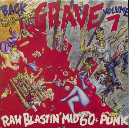 VA: BACK FROM THE GRAVE Vol.7 2x LP