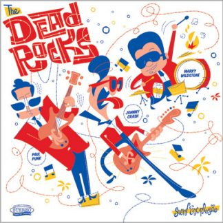 THE DEAD ROCKS - Surf Explosão CD