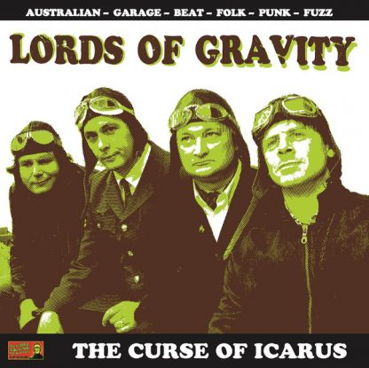 LORDS OF GRAVITY - The Curse of Icarus LP