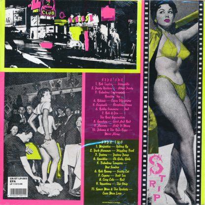 VA: LAS VEGAS GRIND! Vol.3 LP back cover