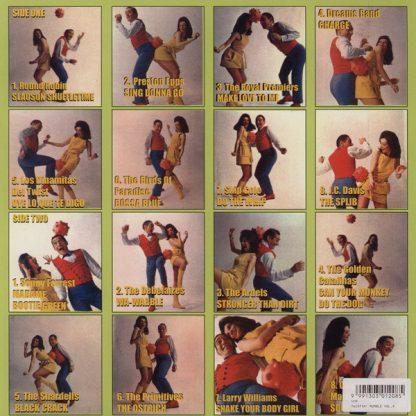 VA: TWISTIN RUMBLE!! Volume Four LP back cover