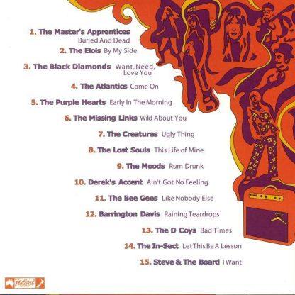 VA: DOWN UNDER NUGGETS - Original Australian Artyfacts 1965-1967 LP back cover
