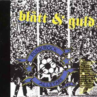 PUNKROCK ALLSTARS FC - Blått & Guld! CD