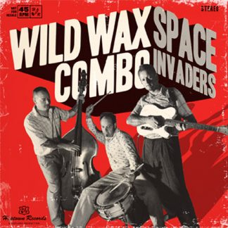 """WILD WAX COMBO: Space Invaders 7"""""""