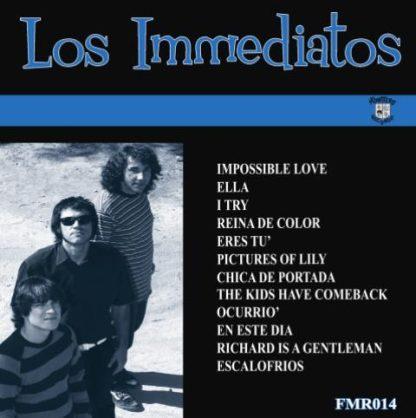 LOS IMMEDIATOS - Impossible Love LP