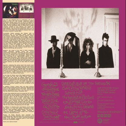 THE CRAMPS: Psychedelic Redux LP back cover