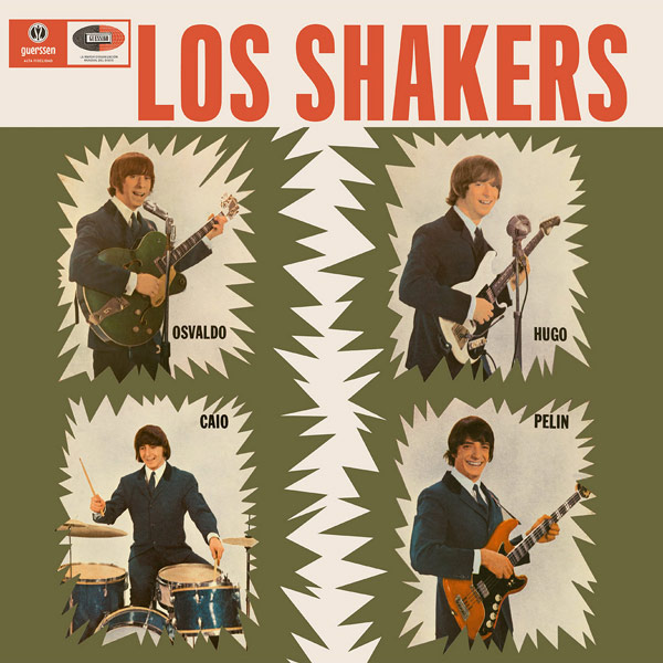 LOS SHAKERS - Los Shakers / Breat It All 2x LP