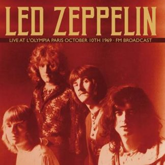 LED ZEPPELIN - Live at L'Olympia Paris 1069 2x LP