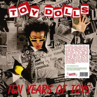 TOY DOLLS - Ten Years of Toys LP