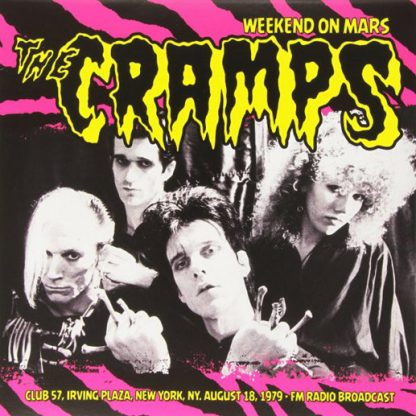 THE CRAMPS: Weekend On Mars LP