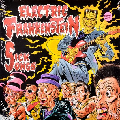 ELECTRIC FRANSKENSTEIN: Sick Songs 10""