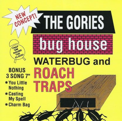 """THE GORIES: Bug House Waterbug And Roach Traps 7"""""""