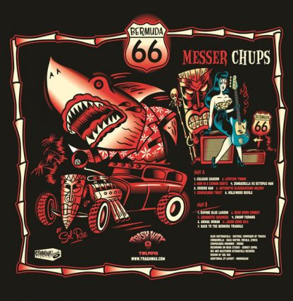 MESSER CHUPS - Bermuda 66 LP back cover