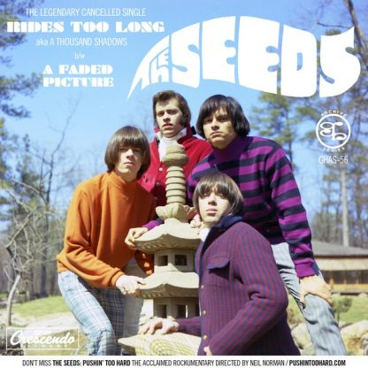 """THE SEEDS: A Thousand Shadows b/w A Faded Picture 7"""""""
