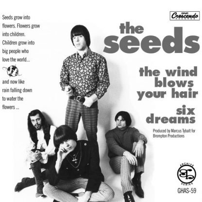 """THE SEEDS: The Wind Blows Your Hair / Six Dreams 7"""""""