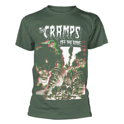 THE CRAMPS Off The Bone T-Shirt Green