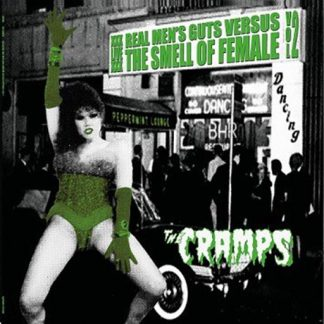 CRAMPS, THE: Real Men's Guts Versus The Smell Of Female Volume 2 LP