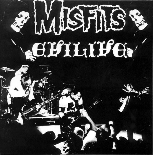 """THE MISFITS: Evilive 7"""""""