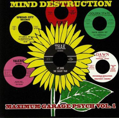 """V/A: Mind Destruction 6x 7"""" BOX"""