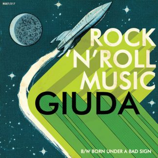 "GIUDA: Rock n Roll Music 7"" (Green)"