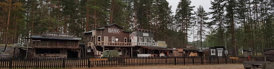 Westernbyen på Kløftefoss