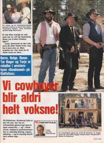 1991 - Norsk Ukeblad - 1