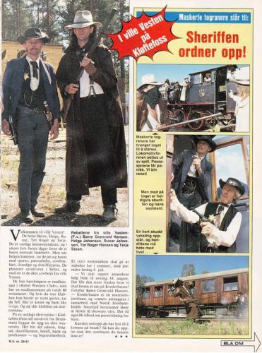 1991 - Norsk Ukeblad - 2
