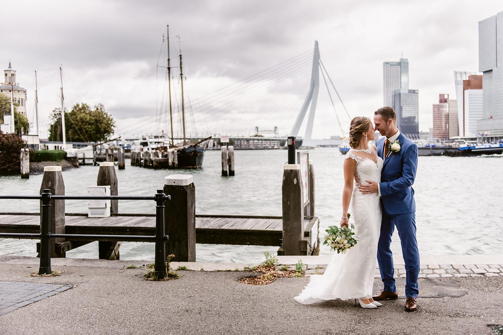 Trouwfotograaf Westerkade Rotterdam | | © Debby Elemans Photography