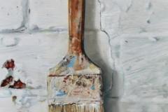 Acryl & oil on canvas  hardboard 2020