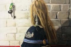 Oil on canvas 60 x 50 cm ,2018