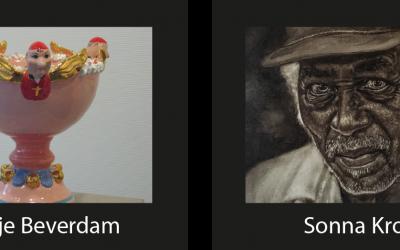 Expositie Sonna Krom en Guusje Beverdam