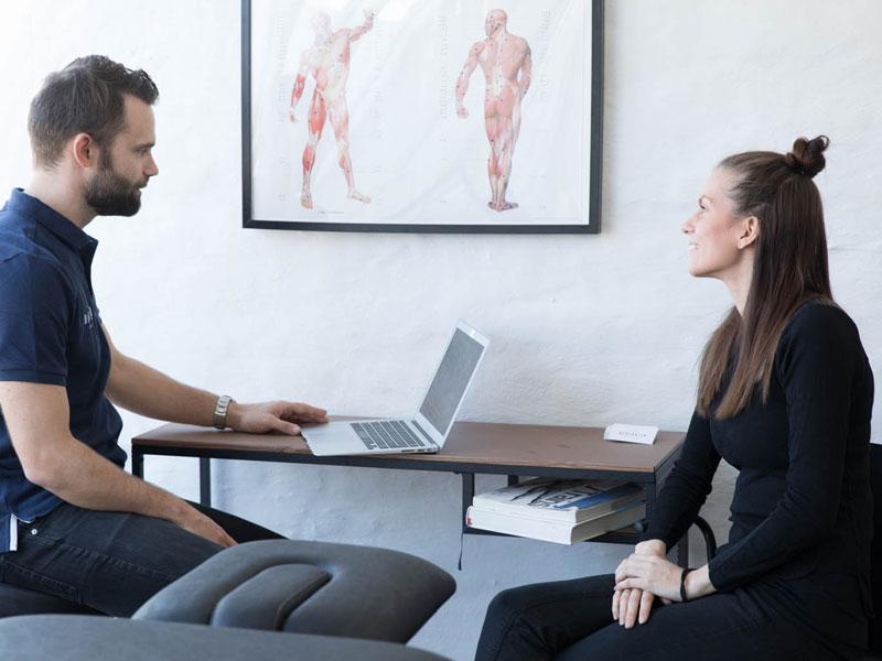 Dedicatio Fysioterapi Konsultation
