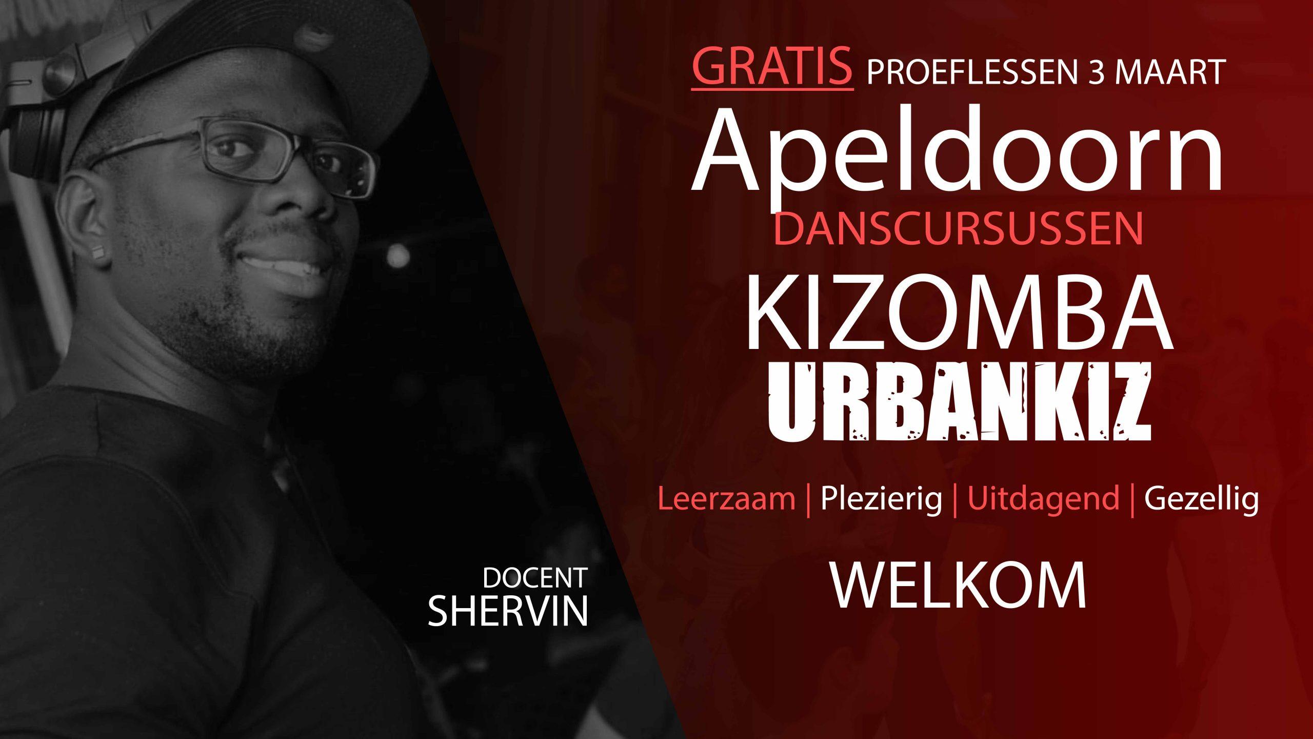 Cursus Kizomba Urbankiz in apeldoorn met Shervin