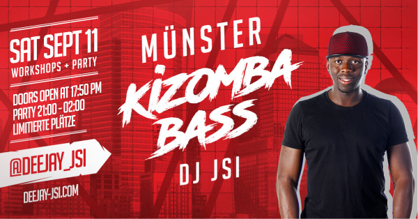11-sept-Münster-Kizomba-Bass-Workshops-Party-Dj-JSI