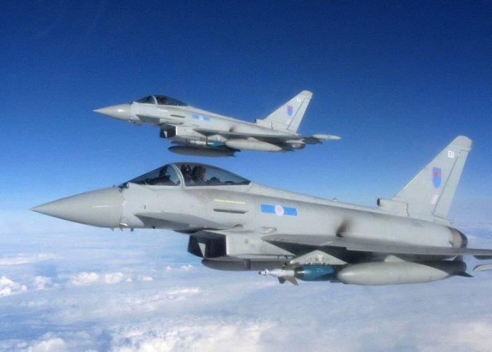 Royal Air Force Typhoons