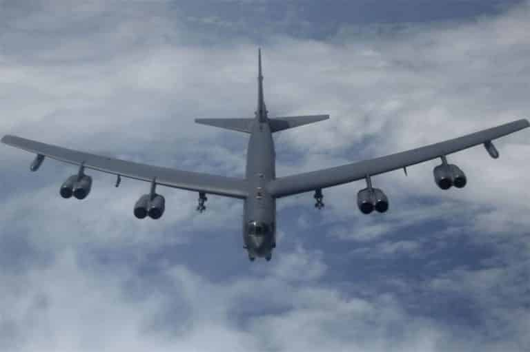 Russian fighter jets intercept US B-52 bomber over Baltic