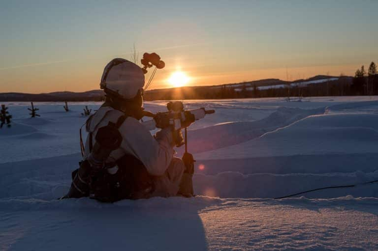 Winter warfare capabilities tested in Swedish exercise Northern Wind