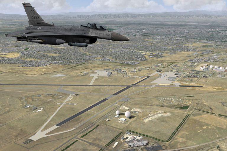 Buckley Air Force Base Receives MetaVR VRSG-equipped  F-16C training simulators