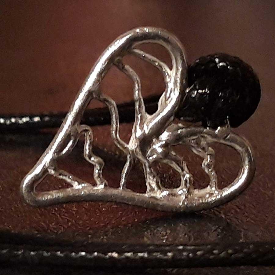 Non Gemstone: 999 Fine Silver Heart Pendant