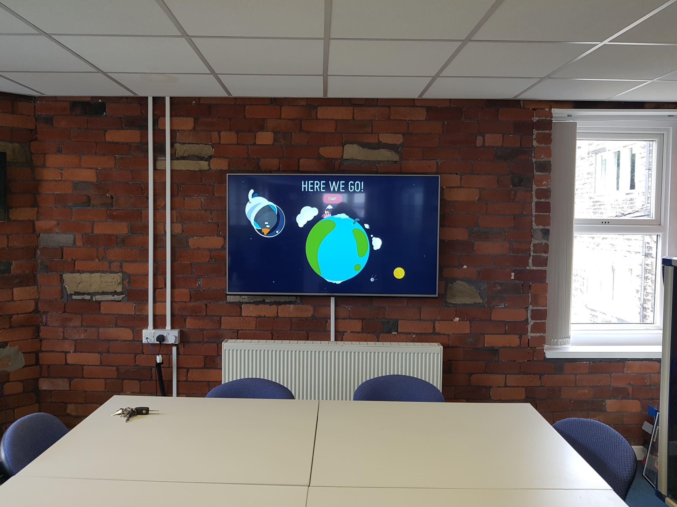 audio visual installation huddersfield