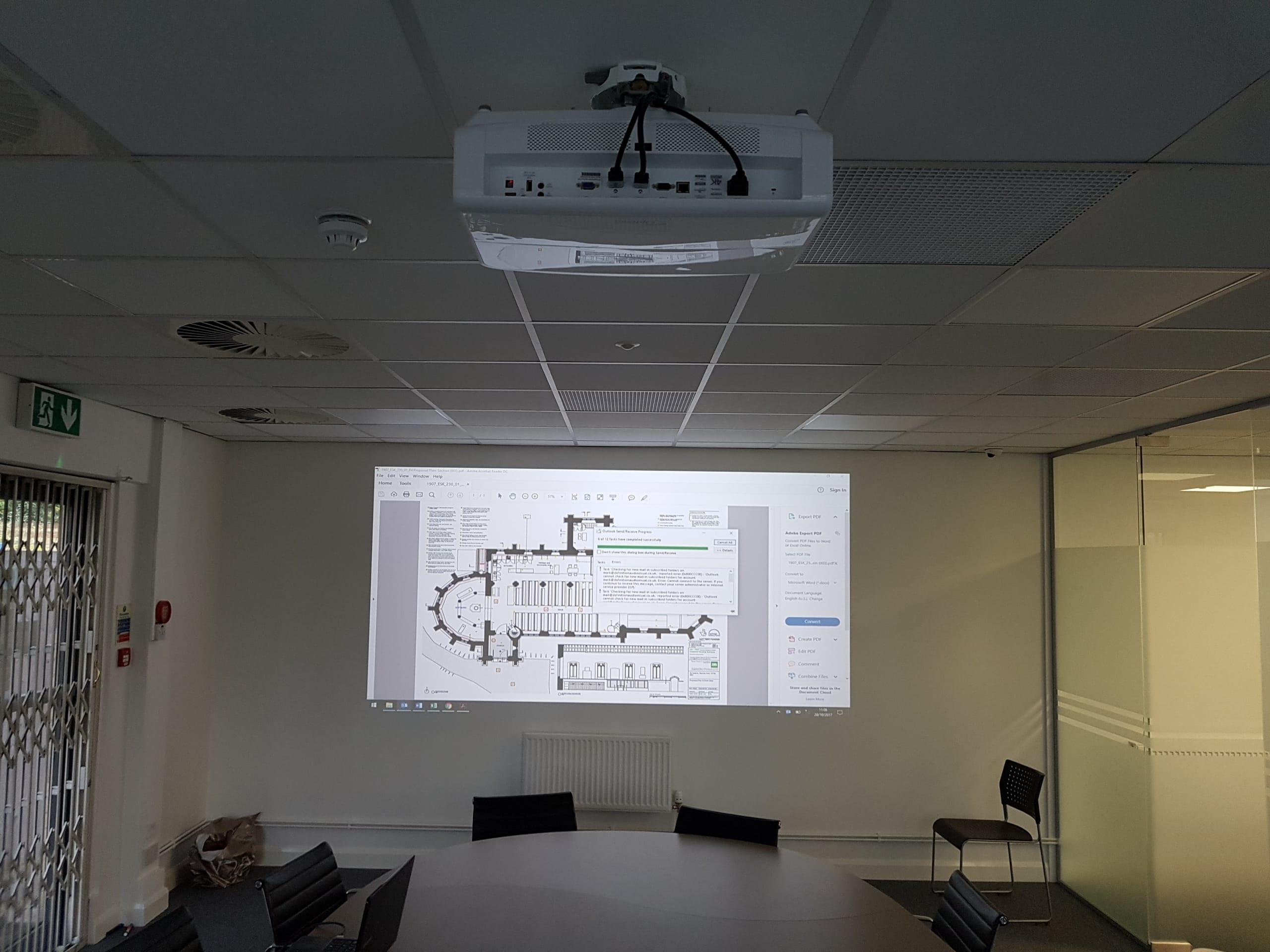 projector installation services bradford