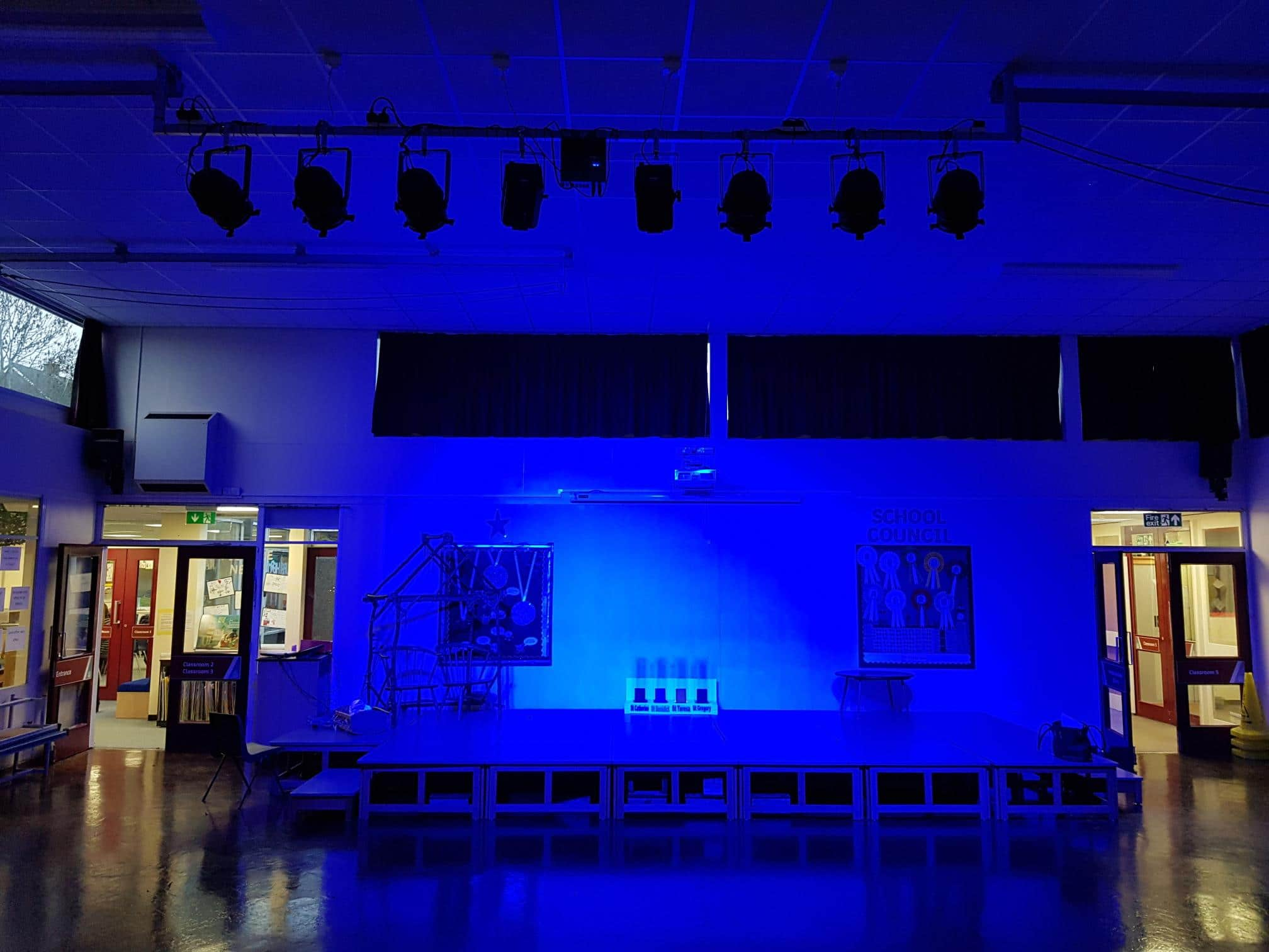 stage lighting installations sheffield