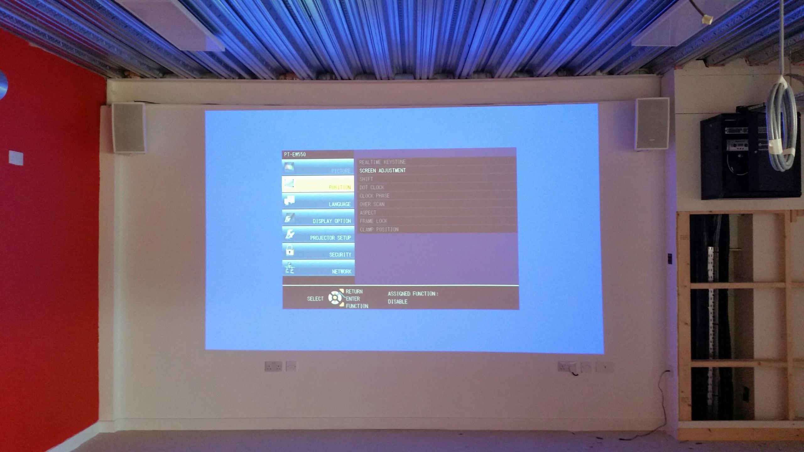 audio visual installation rotherham